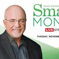 Dave Ramsey &amp Rachel Cruze Smart Money Live Stream Event