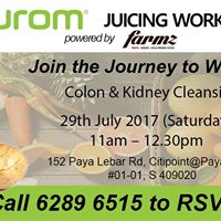 Hurom Workshop - Colon &amp Kidney Cleansing
