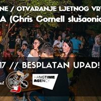 F O R &amp DJ Knea (Chris Cornell sluaonica) Ljetni vrt VIB-a