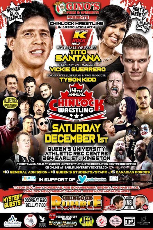 Ginos Pizza Spaghetti Presents Chinlock Wrestling At Queens