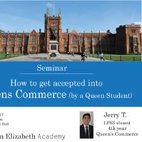 How to get accepted into Queens Commerce (by a Queens Student)