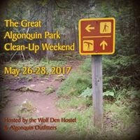 The Great Algonquin Park Clean-Up Weekend 2017