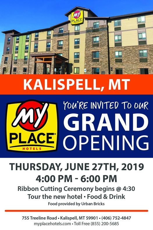 Grand Opening/Ribbon Cutting at My Place Hotels, Kalispell