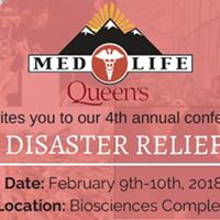MEDLIFE Queens Conference 2018 Disaster Relief