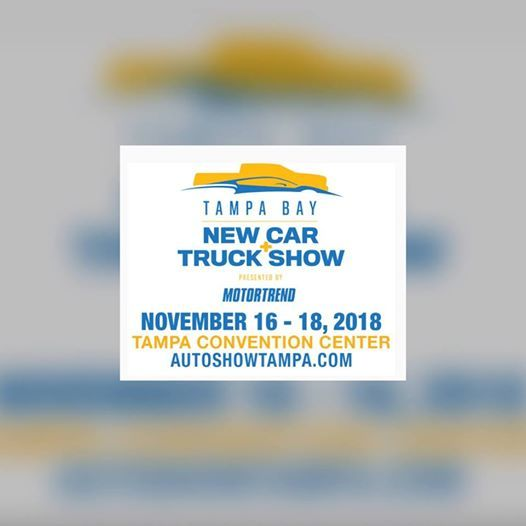 Tampa New Car Truck Show At Tampa Convention Center Florida - Tampa convention center car show