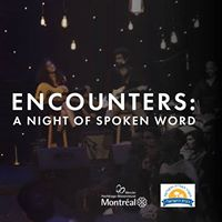 Encounters A Night of Spoken Word