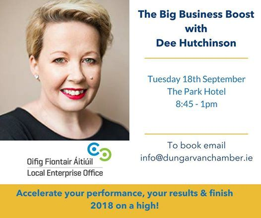 The Big Business Boost with Dee Hutchinson