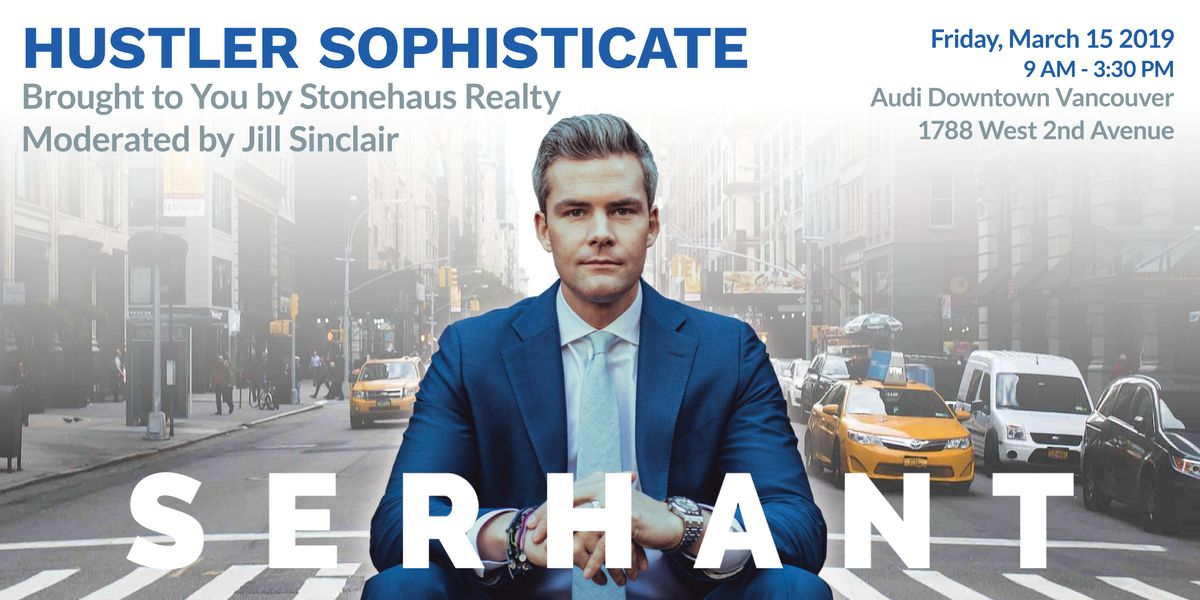 Hustler Sophisticate Speaker Series Featuring Ryan Serhant