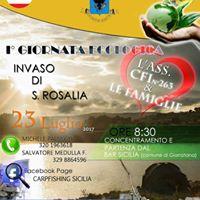 1 Giornata Ecologica Lago Santa Rosalia.