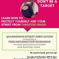 Quarrendon Street Association Free Information Workshop