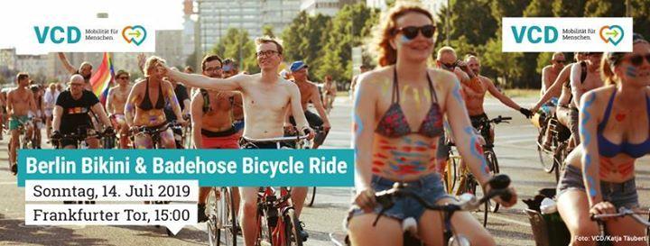 Berlin Bikini Badehose Bike Ride
