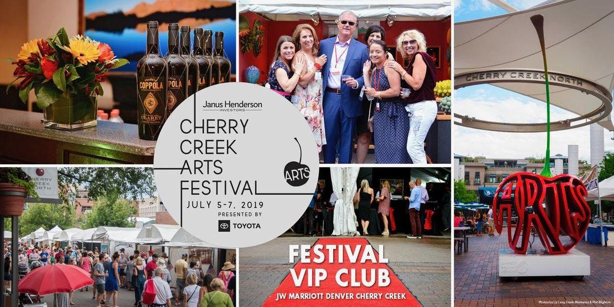 FESTIVAL VIP CLUB Cherry Creek Arts Festival