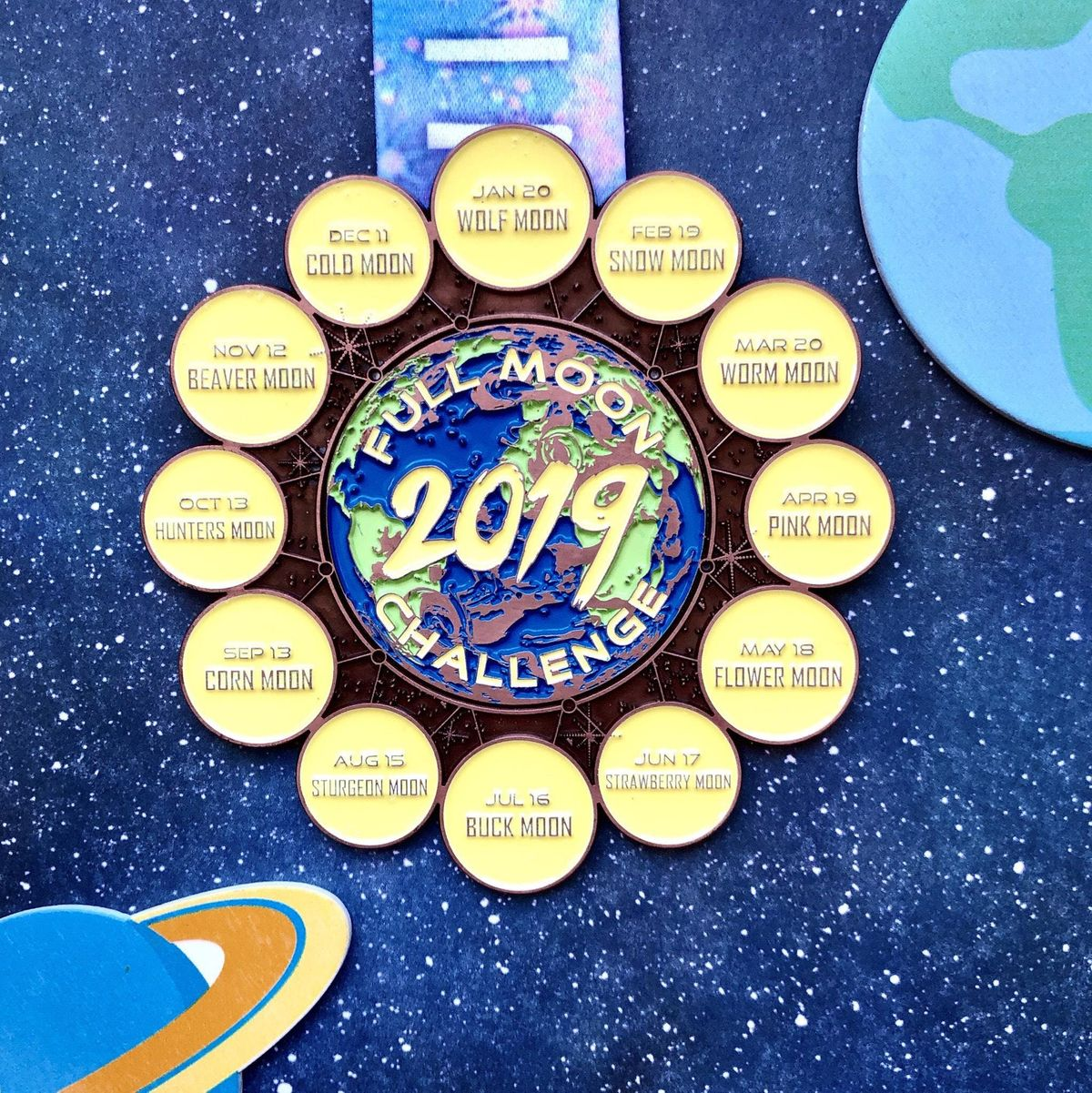 The 2019 Full Moon Running and Walking Challenge - Paterson at