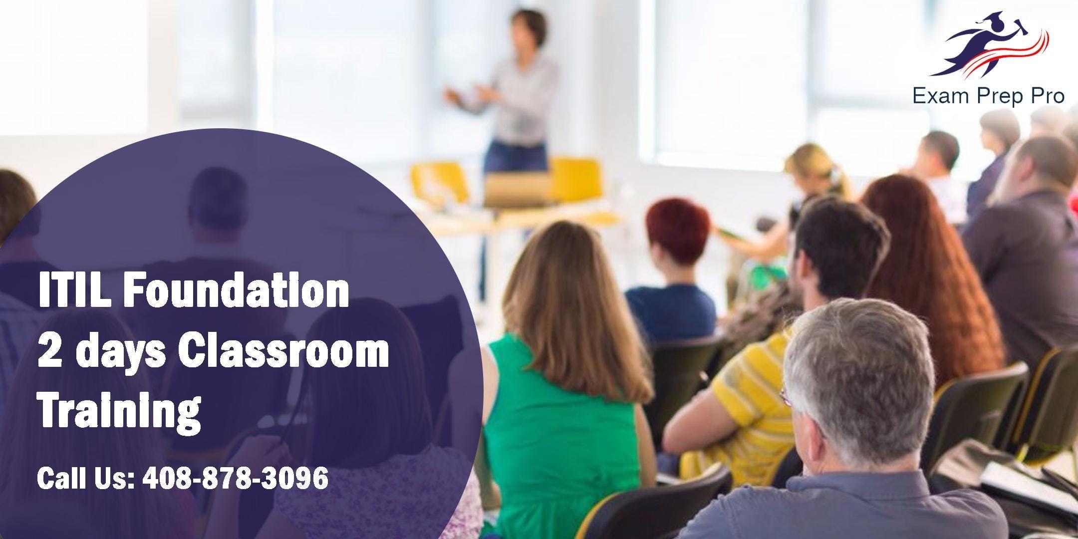 ITIL Foundation- 2 days Classroom Training in ColumbiaSC