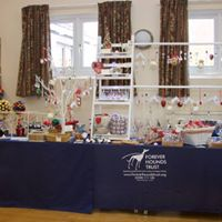 Forever Hounds Trust Crafty Hounds Stall at Christmas Fair