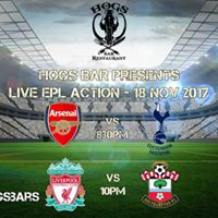 HOGS BAR Live EPL Action