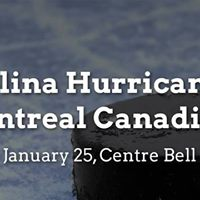 Carolina Hurricanes vs. Montreal Canadiens