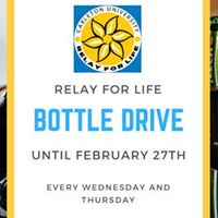 Relay For Life Bottle Drive