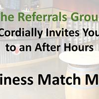 Business Match Mixer