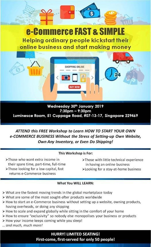 E-Commerce FAST and Simple