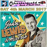 John Lewis &amp his Trio at Chesterfield rnr Club