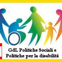 1 incontro GdL Politiche Sociali e politiche per la disabilit
