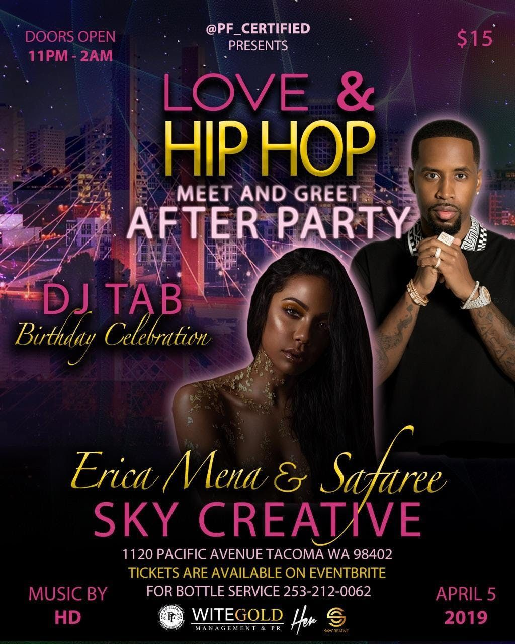 Love & Hip-Hop Meet & Greet Afterparty