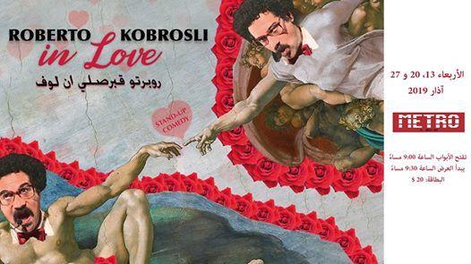 Roberto Kobrosli in Love -