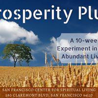 Prosperity Plus - A tuition-free class on more abundant living
