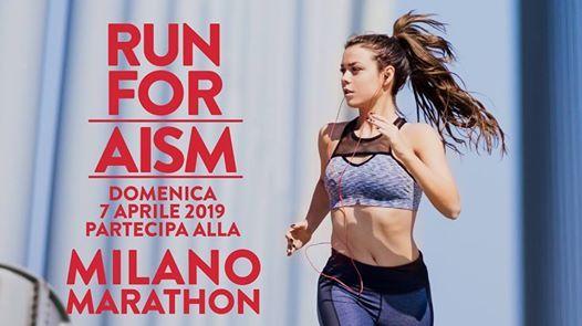 Run4aism alla Milano Marathon