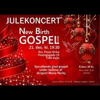 Julekoncert med New Birth