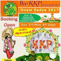 The KKP Onam Sadya
