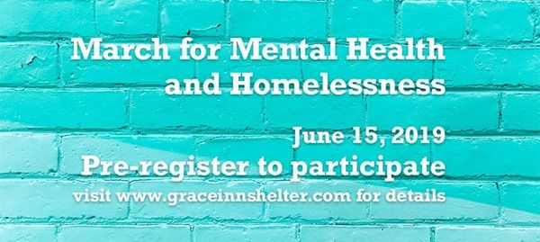 March for Mental Health and Homelessness