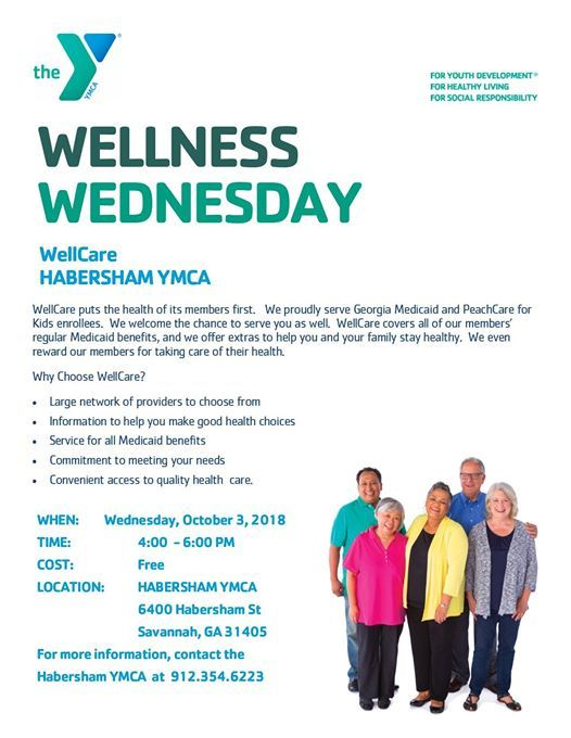Wellness Wednesday with WellCare at Habersham Branch YMCA6400