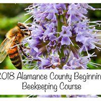 Alamance County Beginning Beekeeping Course