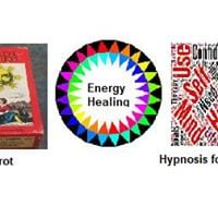 Hypnosis &amp Energy &amp Tarot  All for One Price 40.00 all day