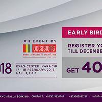 The Wedding Expo Karachi 2018