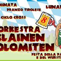 Klainen Dolomiten Orkestra DAY3 Festa della Patata e del Wrstel