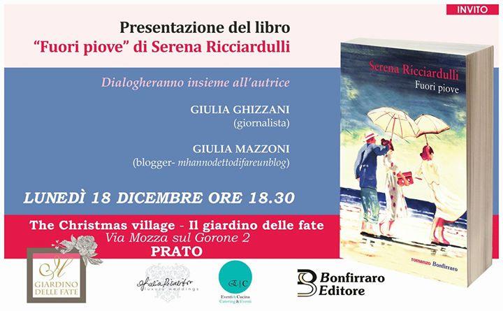 Un the con lautrice Serena Ricciardulli e il suo Fuori Piove