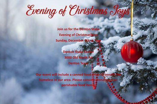 Evening of Christmas Joys 2018