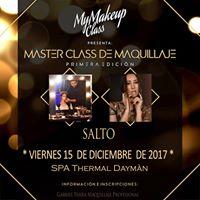 Master Class de Maquillaje -Gabriel Parra en Salto-