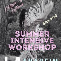 Mizuho Sato Flamenco Summer Intensive Workshop in Los Angeles