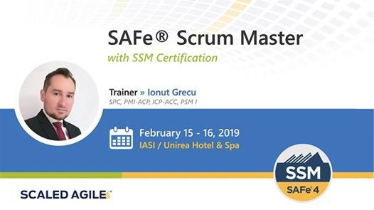SAFe Scrum Master Training with Certification
