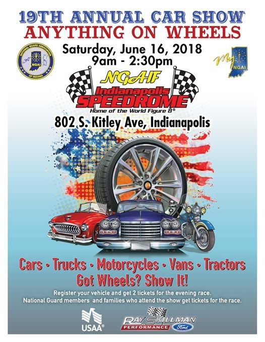 Th Annual Car Show Anything On Wheels At Indianapolis Speedrome - Car show in indianapolis this weekend