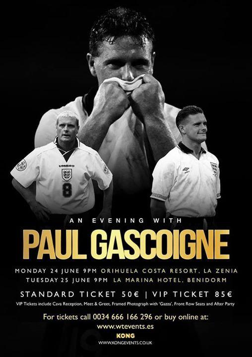 An Evening With Paul Gascoigne