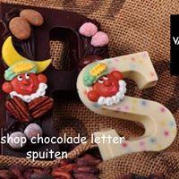 Workshop chocolade letter spuiten