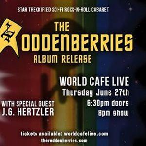 The Roddenberries Album Release with J.G. Hertzler at World Cafe Live