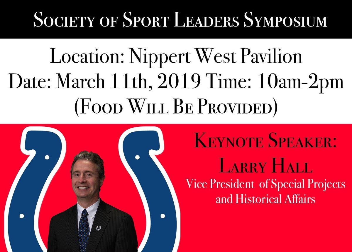 Society of Sport Leaders Symposium 2019