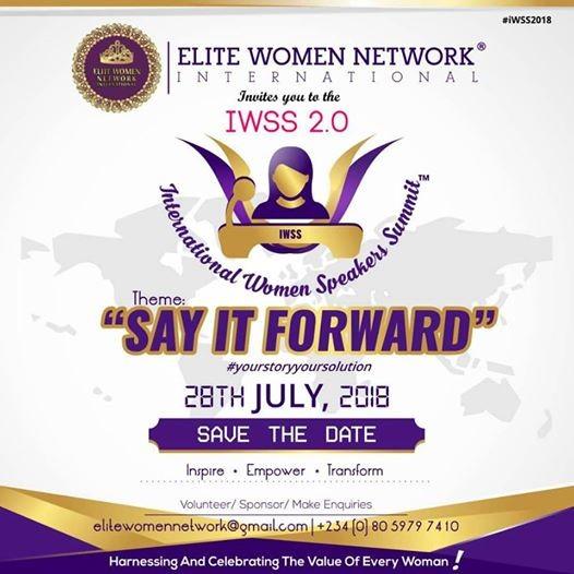 International Women Speakers Summit 2.0