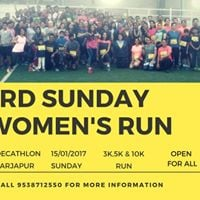 3rd Sunday Womens RUN